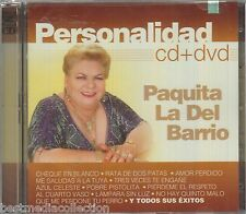 CD / DVD Paquita La Del Barrio CD Personalidad 20 Tracks & 14 Videos BRAND NEW