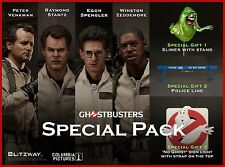 Blitzway Ghostbusters 1984 SPECIAL PACK Peter+Raymond+Egon+Winston+Slimer Figure
