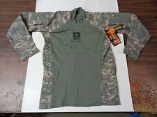 NEW Massif Flame Resistant FR Army Combat Shirt ACU Medium US Army Strong