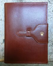 Rolex super rare leather vintage notepad 71.06.02 hight collection MINT