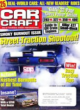 Car Craft Magazine Issue Jul 1998 Street Traction Shoot Out, Chevy Power Section