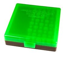 1 BERRYS AMMO BOX ZOMBIE GREEN/BLACK 22LR 45 ACP 10MM 100 rd BUY 4 GET 1 FREE