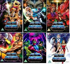 HE MAN AND THE MASTERS OF UNIVERSE VOLUME 1-6 DVD CARTOON COMPLETE SERIES NEW UK