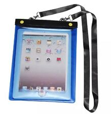 Waterproof Case Cover Pouch Protector Neck Strap for Apple iPad 1,2,3,4,Mini UK