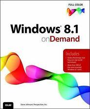 On Demand Ser.: Windows 8.1 on Demand by Perspection Inc. Staff and Steve...