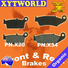 Front Rear Brake Pads Yamaha WR426 WR 426 4T 2001-02