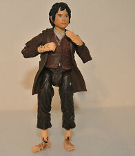 LOTR Lord Of The Rings Frodo Baggins Hobbit 2004 marvel rare articulated figure