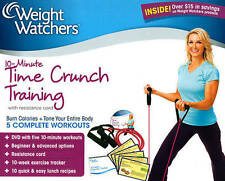Weight Watchers: 10-Minute Time Crunch Training Kit, DVD, Stephanie Huckabee, An