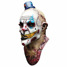 Evil Zombie Clown Mime Zack Deluxe Overhead Adult Latex Scary Halloween Mask