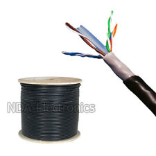 CAT6 1000FT UTP OUTDOOR 23 AWG 550 MHZ CABLE UTP WIRE SOLID DIRECT BURIAL UV LAN