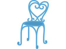 """Marianne Design Creatables Die ~ French Bistro Chair, LR0297, 1"""" x 2 1/4""""  ~ NIP"""