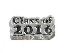 Class Of 2016 Graduation Graduate Floating Charm For Memory Locket Necklace