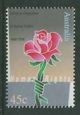 50th ANNIVERSARY UNIVERSAL DECLARATION OF HUMAN RIGHTS 1998 - MUH (B49-RR)