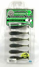 Jackall Soft Lure Ammonite Shad 3 Inches Vibe Tail Blue (4377)