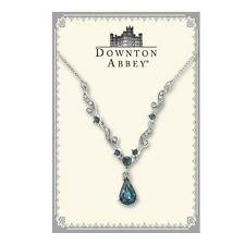 The Downton Abbey Collection Blue Sapphire French Scroll Necklace 17508