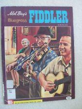 Burton Isaac Bluegrass Fiddler 30 Tunes Plus Photos Unmarked