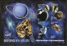 ANTIGUA  2016   DEEP SPACE NEW HORIZONS  SHEET MINT NH