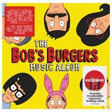 The Bobs Burgers Music Album CD 6 Target Exclusive Collectible Character Cards