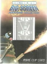 Doctor Who Big Screen Additions - MC1 Movie Clip Cel Card