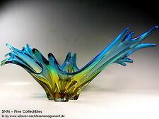 MURANO ART GLAS ITALY Schale XL bowl 50s 60s Design Sommerso Toso Venini Panton