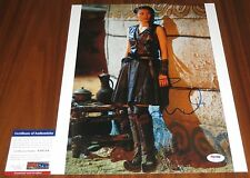 Claudia Kim Signed 11x14 Avengers Age of Ultron Marco Polo Khutulun  PSA/DNA