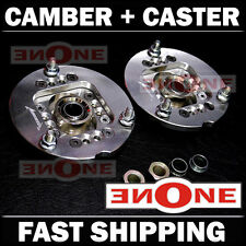 NEW! MK1 Adjustable Camber & Caster Plates BMW E30 E34 325 For Coilover Kits