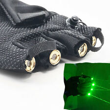 High Bright 532nm Stage Laser Gloves built by 4pcs  80mW Green laser/1 left hand