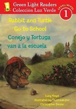 Lucy Green Light - Rabbit And Turtle Go To School (2013) - Used - Trade Pap
