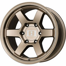 Level 8 MK 6 16x8 6x139.7 (6x5.5) +0mm Bronze Wheels Rims 16137
