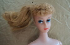 #6  ASH BLONDE BARBIE PONY TAIL VERY NICE DOLL ~~    JUST NEEDS A LITTLE TLC ~