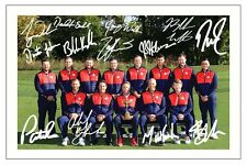 Team USA 2016 Ryder Cup SIGNED AUTOGRAFO foto stampa Golf