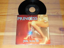 PRINCESS - HELLO TO MY LIFE / HOT-PLATE 7'' SINGLE MINT- 1983