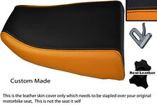 ORANGE & BLACK CUSTOM FITS KAWASAKI NINJA ZX6R 600 95-97 REAR SEAT COVER