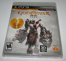 God Of War Saga for Playstation 3 Brand New! Factory Sealed! Fast Shipping!