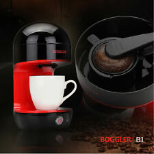 Boggler Mini Coffee Maker Portable Small Kitchen Appliance Fashionable Red B1