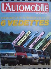 revue L'AUTOMOBILE 1983 CITROEN BX / FORD ESCORT / LANCIA DELTA / 24 H DU MANS