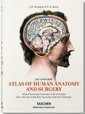 COMPLETE ATLAS OF HUMAN ANATOMY & SURGERY ~ BOURGERY & JACOB ~ TASCHEN ~ ILLUS