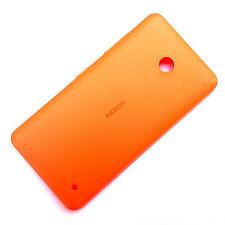100% Nokia Lumia 630 635 trasera batería carcasa+botones laterales Naranja Mate