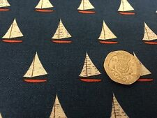 Off Shore C4924 Riley Blake Boats Fabric FQ or More Blue 100% Cotton Craft Boys