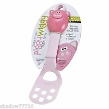 Joie childrens OINK OINK fun cooking spatula piggy wiggy handle flexi spatula