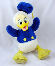 Donald Duck Vintage Plush Toy Walt Disney California Stuffed Animal Rubber Face
