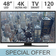 "Samsung 48"" inch 4K UHD Smart LED LCD TV 120Hz with 3 HDMI - UN48JU640D"