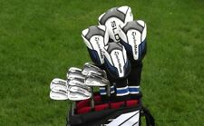 TaylorMade Regular Flex SLDR Set w SLDR Irons Diver 3 & 5 Wood w HB Cart Bag