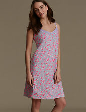 NEW M&S Emma Bridgewater Modal Blend Ditsy Floral Chemise Nightdress UK 8 EUR 36
