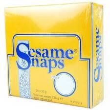 Sesame Snaps Sesame Snaps 24 x 30g