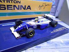F1 WILLIAMS RENAULT fw16 #2 Senna 1994 GP Pacific undici Segafredo Minichamps 1:43