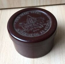 Vintage Collectible BAKELITE Small Box Victory Writing for Shoe Cream Retrto