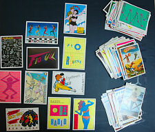 vintage FIORUCCI Complete collection editions STICKERS PANINI 1984 from 1 to 200