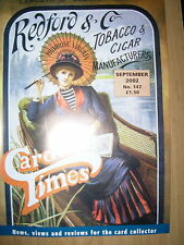 CARD TIMES MAGAZINE FORMERLY CIGARETTE CARD MONTHLY No 147 SEPTEMBER 2002
