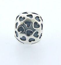 791037 PANDORA STERLING SILVER SHOWERED WITH LOVE CLIP NEW IN BOX